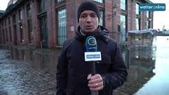 wetteronline.de: Schwere Sturmflut in Hamburg (30.11.2015)