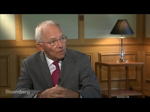 Germany's Schaeuble on Trump, Brexit, EU Reforms
