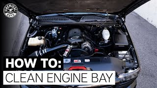How To Clean Engine Bay: GMC Sierra Truck | Chemical Guys