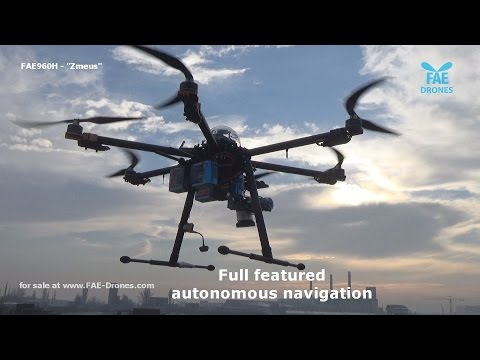 Aerial survey drone for topography and agriculture- 32 minute flight