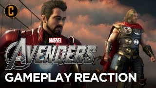 Marvel's Avengers First 20 Minutes Gameplay Reaction