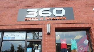 360 Bikes 'n Boards Store Walkthrough Aug 13, 2016