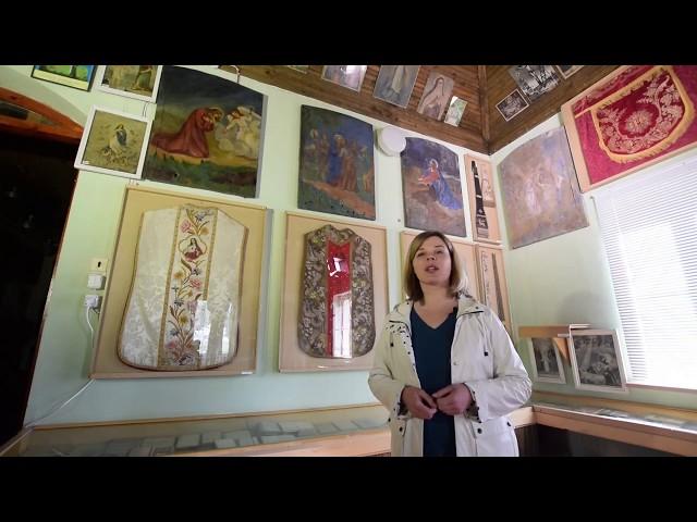 EKSPONATAI - SIMBOLIAI: Keturi paveikslai iš senųjų, sugriautų Veprių Kalvarijų koplytėlių