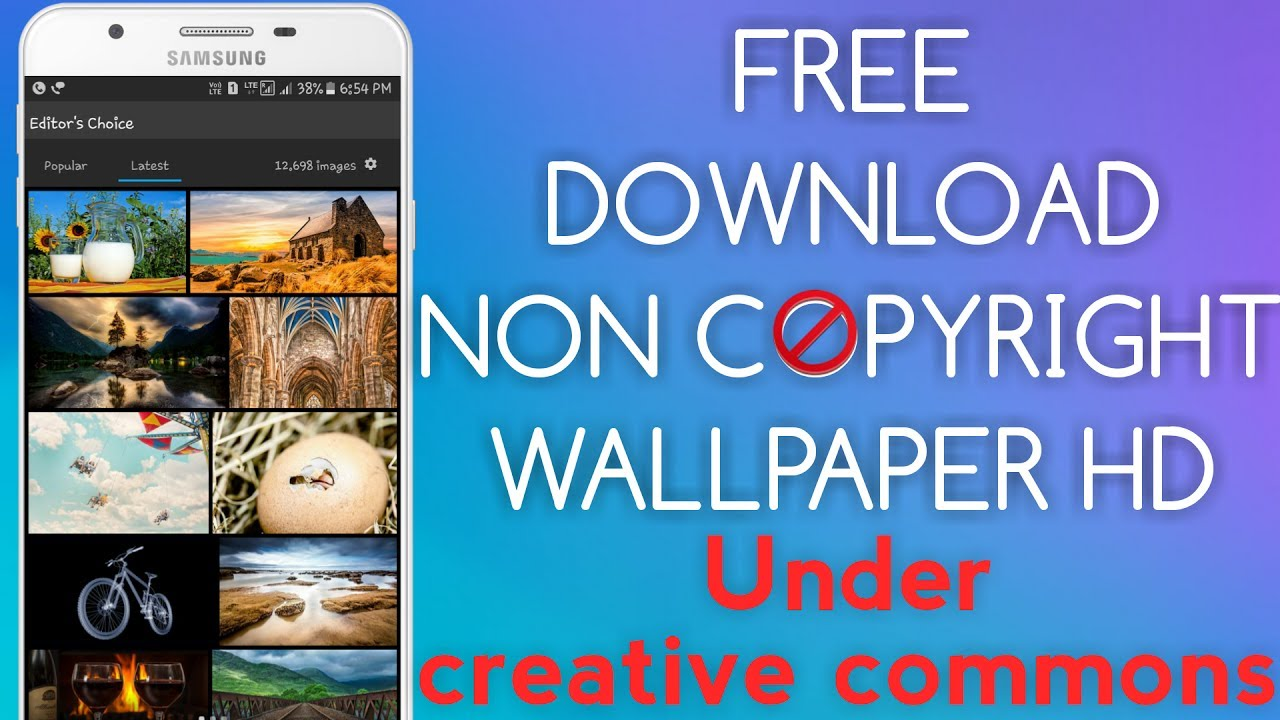 Non copyright beautyful background wallpaper hd kaise download kare under creative commons - YouTube