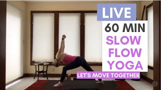 Slow Flow Yoga with Carrie Treister