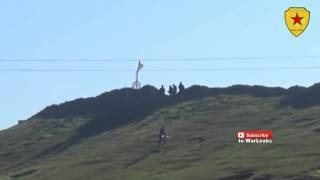 041 Syria War 2015    Kurdish YPG In Heavy Clashes During Assault On Tal Hamis 19 08 2016