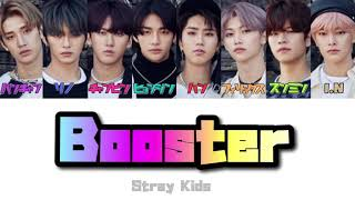 Download Lagu 【日本語字幕/カナルビ】Boosterー Stray Kids 【歌詞】 mp3