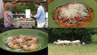 Zucchini Noodle Pasta, Grilled Pineapple and Training Border Collies (Episode #427)