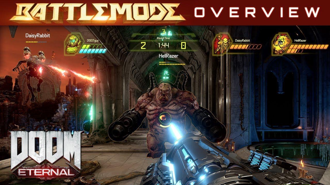 DOOM Eternal – BATTLEMODE Multiplayer Overview - YouTube