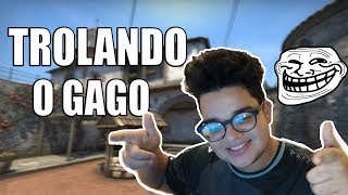 TROLLANDO UM GAGO NO COMPETITIVO - CS:GO