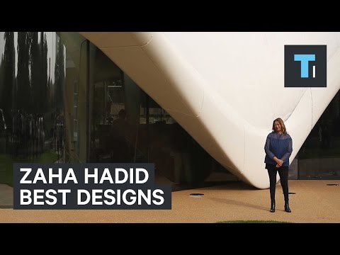 Zaha Hadid's best designs
