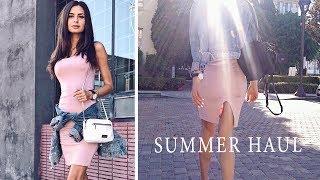 Летние покупки одежды и косметики | Примерка 👙