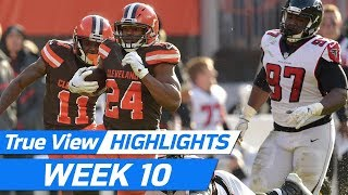 Top 360 & POV True View Plays of Week 10 | NFL True View