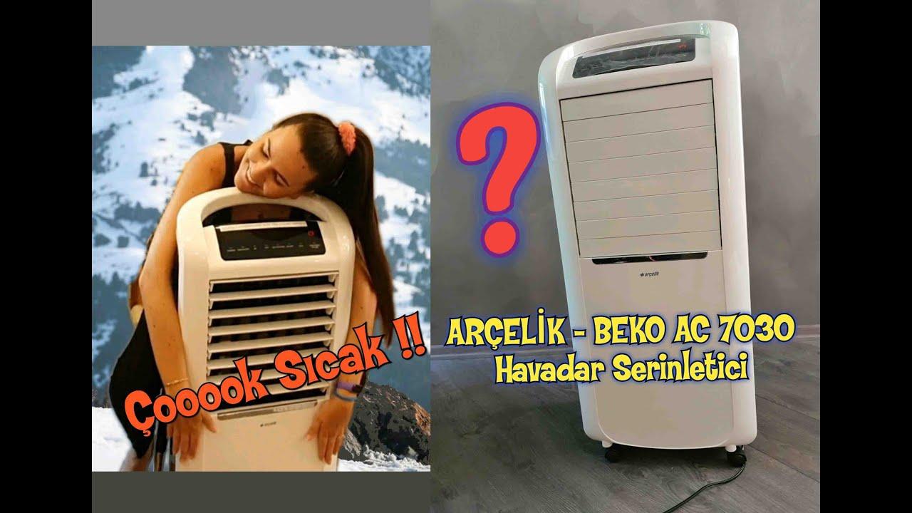 ARÇELİK - BEKO AC 7030 HAVA SERİNLETİCİ İNCELEMESİ  #Arçelik #Beko