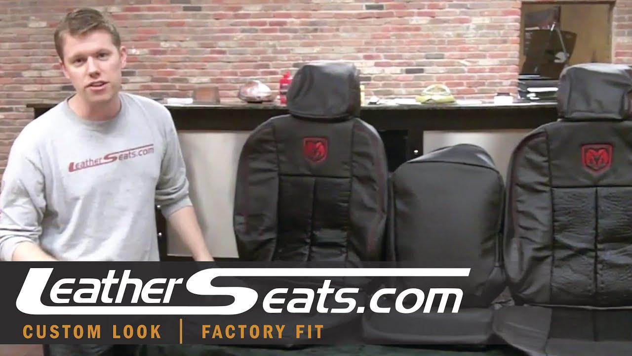 Dodge Ram Alligator Leather Custom Interior Upholstery