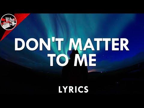 Drake ft. Michael Jackson - Don't Matter To Me (Lyrics) Toyko Cover