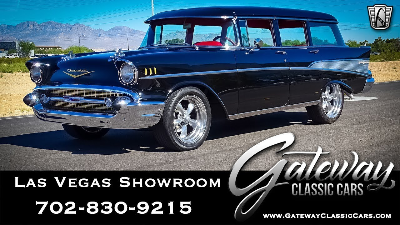 Chevrolet Las Vegas >> 1957 Chevrolet Bel Air Wagon Stock 149 Las Vegas