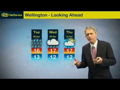 Dan Corbett - ducks with smiles - Met Service New Zealand 7 April 2014