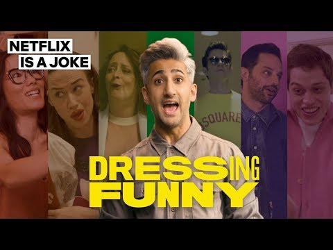 'Queer Guy' Fashion Expert Tan France And Pete Davidson Reunite In Netflix's 'Dressing Funny' Trailer