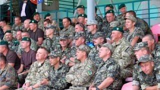 В Мариуполе звезды украинского футбола проиграли пограничникам (ВИДЕО 4К)(Сегодня в Мариуполе, в рамках праздника физкультуры и спорта, а также европейской недели футбола прошел..., 2015-09-12T18:20:11.000Z)