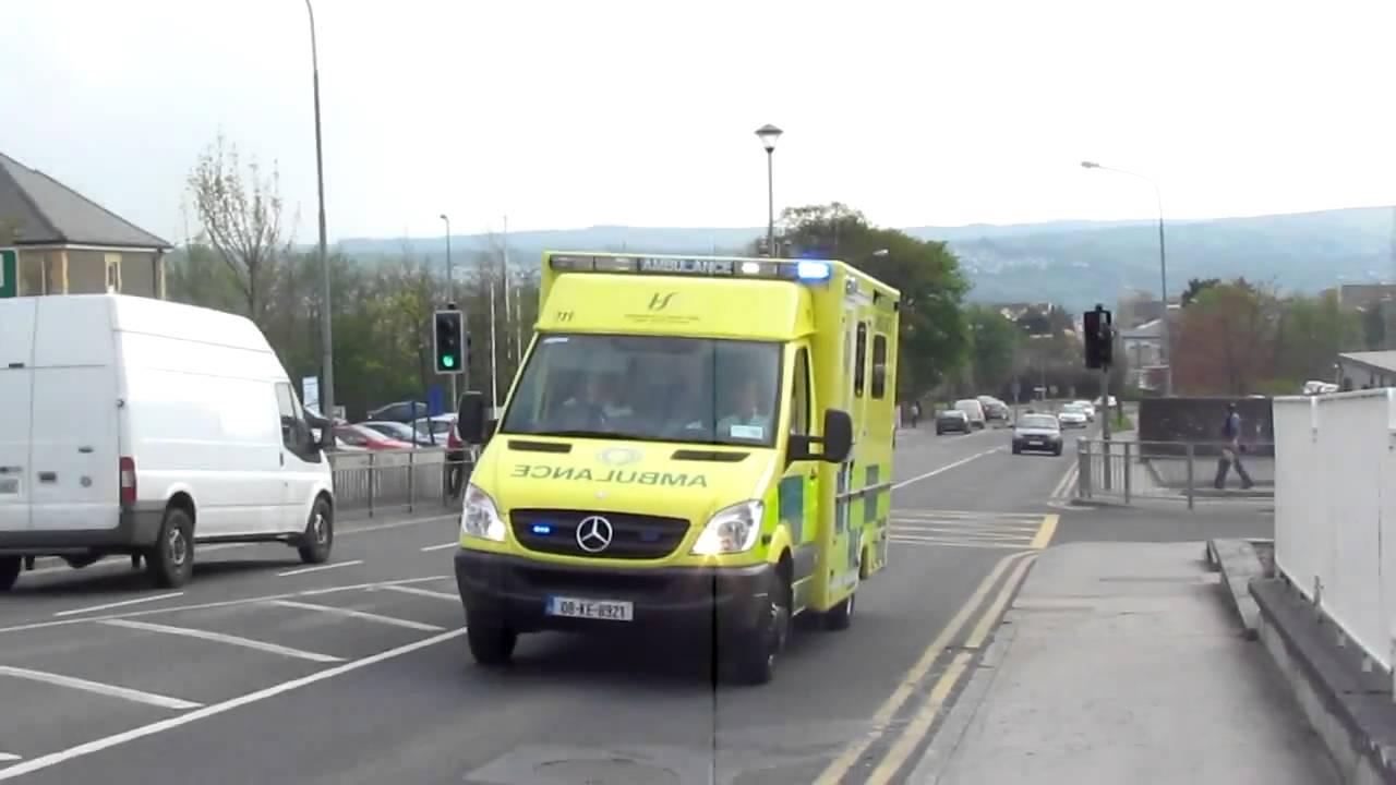 Irish ambulance service mercedes benz sprinter for Mercedes benz emergency service