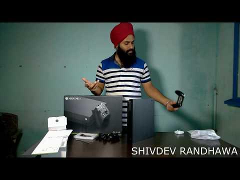 Xbox One X Unboxing IN Hindi India, Playing For PUBG & FORTNITE, Xbox Ya Ps4 Kaun Sa Le