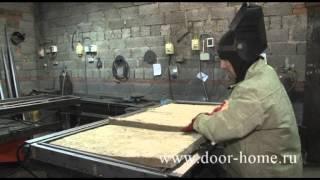 Производство металлических дверей(, 2013-02-18T13:57:21.000Z)