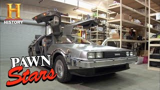 Pawn Stars: Back to the Future DeLorean is a Blast from the Past (Season 8) | History YouTube Videos
