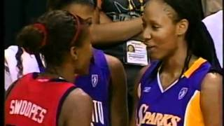 Excerpts from the 2005 WNBA All Star Game