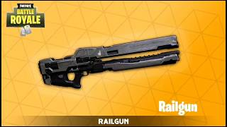 *NEW* SECRET RAILGUN WEAPON IN FORTNITE! (Fortnite Battle Royale) FORTNITE EPIC & FUNNY MOMENTS!