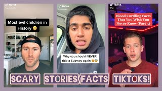 Scary Facts/Stories | TikTok Compilation 2020