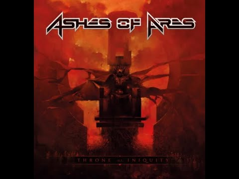 """ASHES OF ARES (Iced Earth members) new EP """"Throne Of Iniquity"""" announced!"""