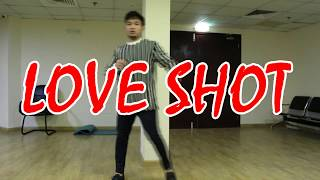 EXO - LOVE SHOT CHALLENGE - KAI