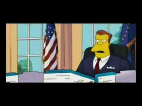 Simpson Movie Trailer Arnold Schwarzenegger Topic Illegal Downloads Youtube