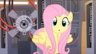 MLP Tron Cheer up,Fluttershy!  Animation