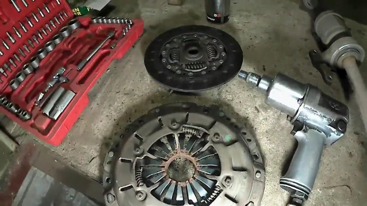 Honda Civic 5d robot Замена Сцепления