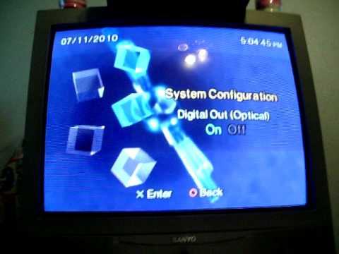 Ps2 How To Output Component And Optical Tutorial Hdtv