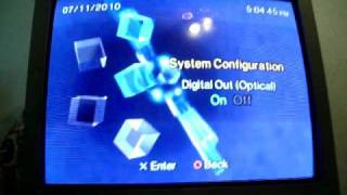 PS2: How to Output Component and Optical Tutorial HDTV