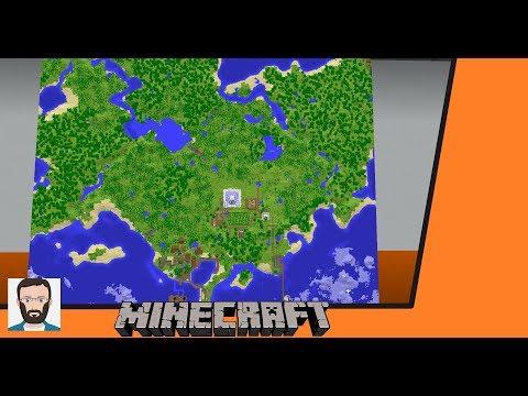 Minecraft Map Wall Tutorial