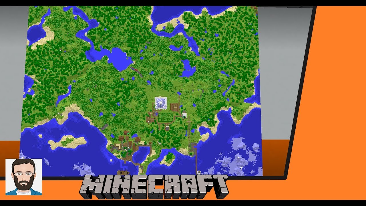 Minecraft: How-to Make A Map & Map Wall (2019) – Pro Game Guides