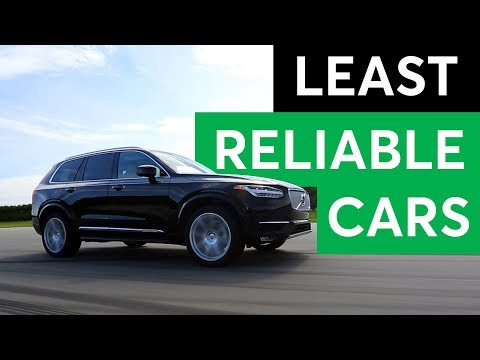 Consumer Reports 2018 Least Reliable Cars