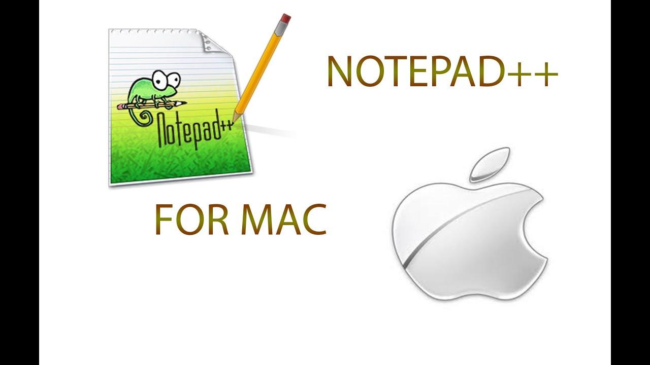 NOTEPAD MAC OS POUR X TÉLÉCHARGER