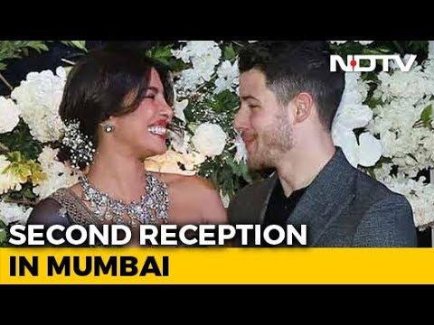 Can`t Take Eyes Off Priyanka Chopra And Nick Jonas At Mumbai Reception
