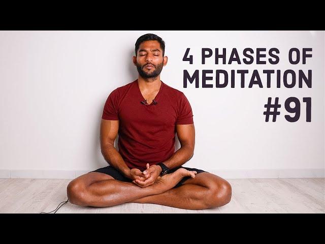 #91. 4 Phases of meditation towards Kaivalyam   Yoga Sutras of Patanjali