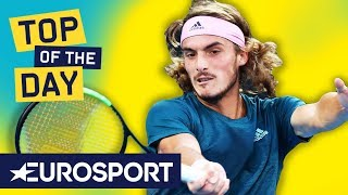 Top 10: Shots From Next Gen Players | Australian Open 2019 | Eurosport