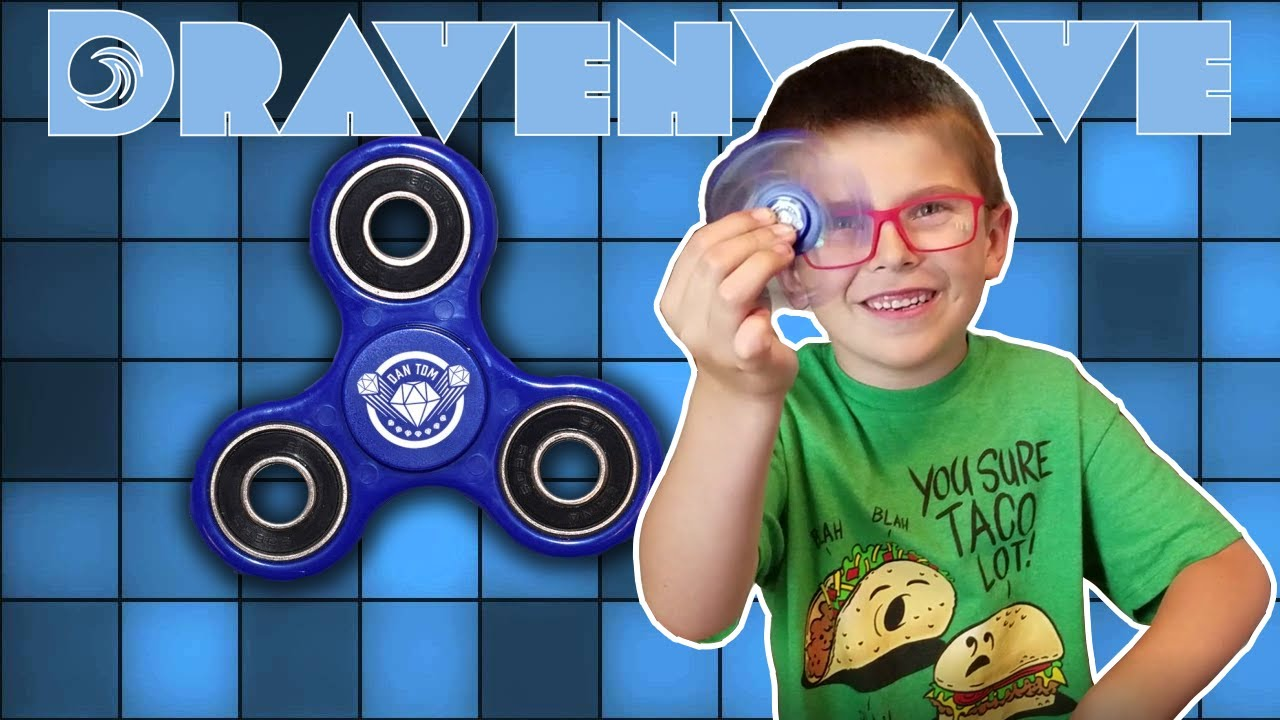 Dantdm Fidget Spinner Unboxing And Review Youtube