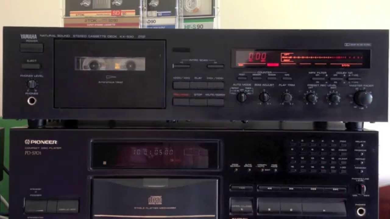 Yamaha Kx 530 Cassette Deck Youtube