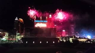 KISS Cleveland Indians 7/5/2014