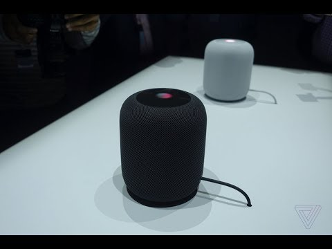 Apple's HomePod sounds really good in its demos