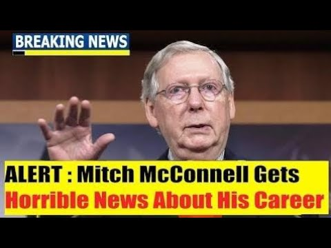 Breaking News Today , Mitch McConnell Gets Hor*r*ible News About His Career, USA Today